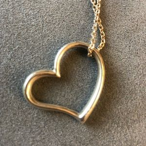 Silver ❤️ necklace 💕 ❤️ ♥️ 💜